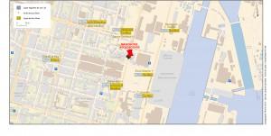 plan d'accès à la MDA Saint-Nazaire